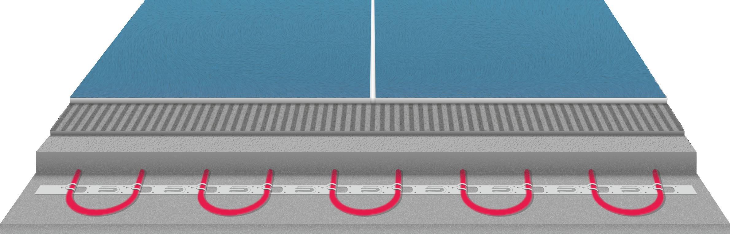 DEVIflex нагревательный кабель в стяжку