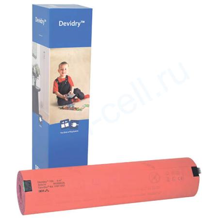 Devidry 100 - 2 м.кв. нагревательный мат